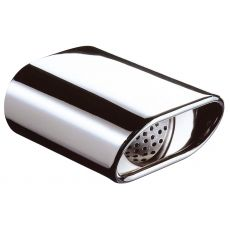 V6 Oval Stainless Steel Exhaust Tip