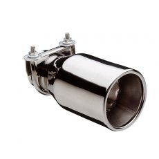 M Type Oval Stainless Steel Exhaust Tip