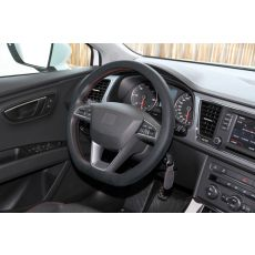 Soft Grip Steering Wheel Cover LP33113 fitted to car steering wheel