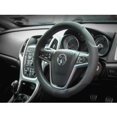 Cotton Steering Wheel Cover LP33127 fitted to steering wheel