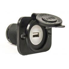 Single USB Flush Mount Power Socket