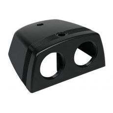 Plastic Surface Mount Pod single with 28mm diameter opening.