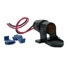 Single Water Resistant Auxiliary Power Socket